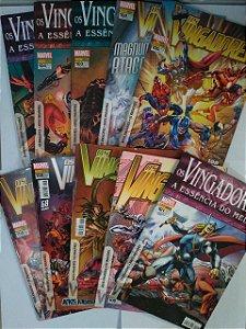 Coleção Hq Os Vingadores - Marvel C/10 Volumes