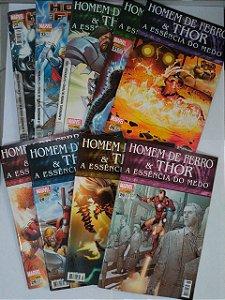 Coleção Hq Homem de Ferro e Thor - Marvel C/9 volumes