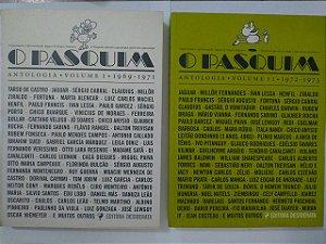 O Pasquim Antologia: Volumes 1 e 2  - Jaguar e Sérgio Augusto (Orgs.)