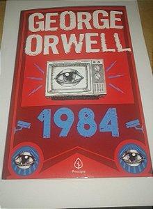 1984 - George Orwell - Livro Novo