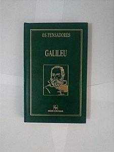 Os Pesadores: Galileu - Capa Verde