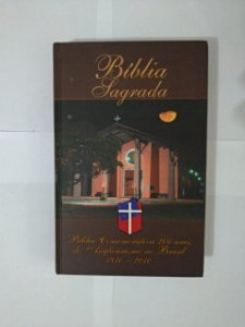 Bíblia Sagrada - Bíblia Comemorativa 200 Anos do Angelicalismo no Brasil: 1810-2010