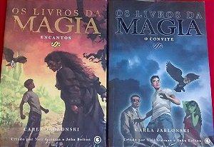 Os livros da Magia - 2 volumes - O Convite + Encantos - Carla Jablonski