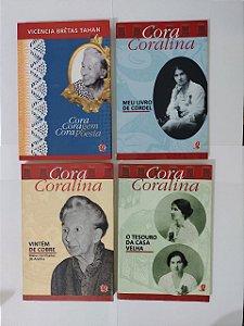 Coleção Cora Coralina c/4 Livros