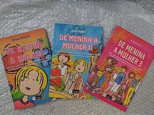Coleção de Menina a Mulher - Drica Pinotti C/3 Livros