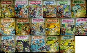 Coleção Mortadelo e Salaminho Cedibra - 17 volumes
