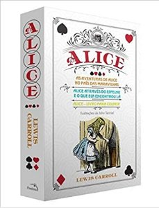 Box Alice No País Das Maravilhas E Alice Através Do Espelho + Alice Para Colorir - Lewis Carroll