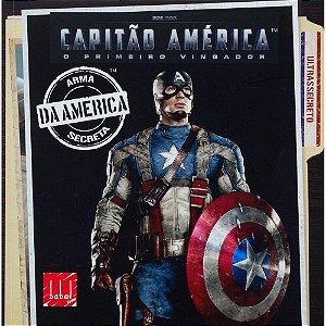 Livro - Capitão América - O Primeiro Vingador - Arma Secreta da América - Marvel - Adaptado por Elizabeth Rudnick