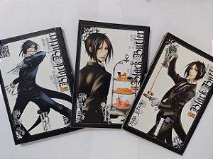 Coleção Hq Black Butler - Yana Toboso C/3 volumes