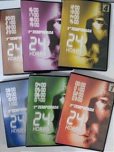 Série 24 Horas - 1ª Temporada completa C/6 DVD's