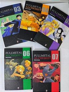 Coleção Hq  Fullmetal Alchemist - C/5 volumes