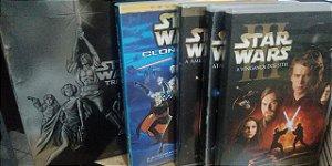Coleção Star Wars Dvd's 1 ao 6 + Disco Bônus + Clone Wars