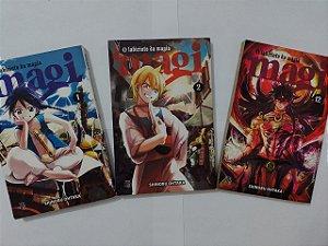 Coleção Magi: O Labirinto da Magia - Shinobu Ohtaka C/3 volumes