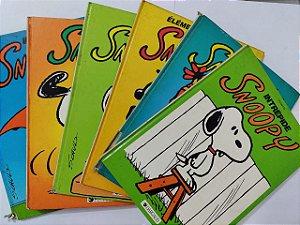 Coleção Snoopy - Peanuts C/6 livros