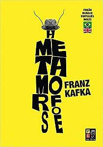 A Metamorfose  Franz Kafka Edição Bilíngue - Novo
