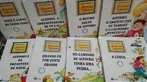 Coleção Aventuras de Alvinho - Ruth Rocha - 8 volumes - Livros Novos