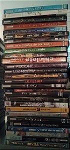 Lote DVD's Musicais, Nacionais, MPB, Samba, Sertanejo, Diversos - 28 itens