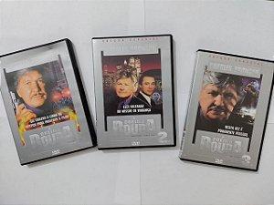 Coleção DVD's À Queima Roupa - Charles Bronson C/3 volumes