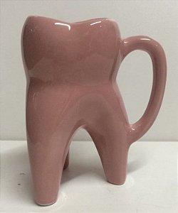 Caneca dente Molar feminina Rosa