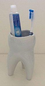 Porta Escovas de Dente Branco