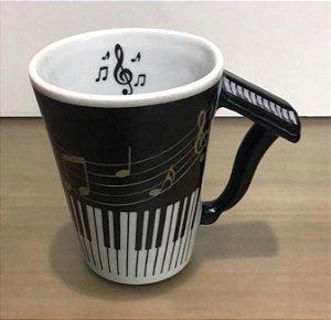 Caneca Musical Piano