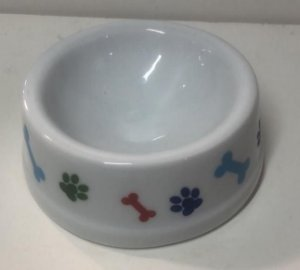 Comedouro Cachorro Porcelana