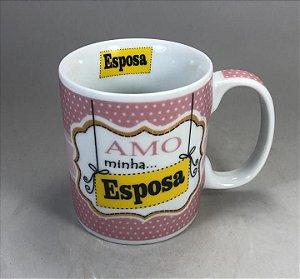 """Caneca """" Amo Minha Esposa """""""