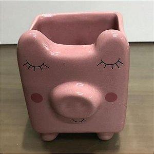 Caneca porquinho Cor de Rosa