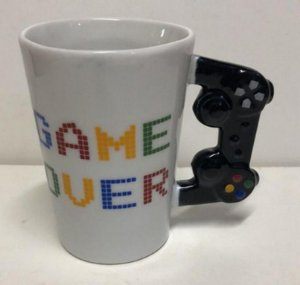 Caneca Game Over - Video Game