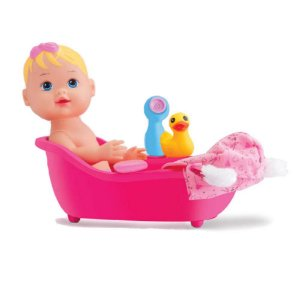 Boneca Baby My Little Collection Banho - Divertoys