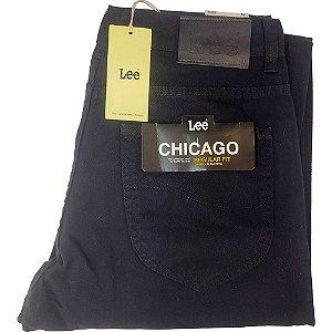 Calça Lee Chicago - Sarja Preta