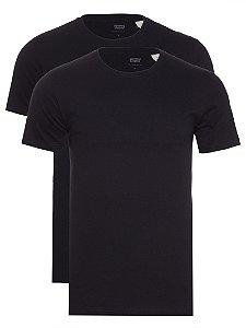 Kit Camiseta Levi´s - Cor Preto com Preto