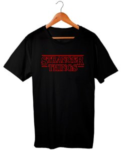 Camiseta Stranger Things Unissex