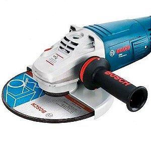 "Esmerilhadeira Angular 7"" Bosch GWS 24-180 220v"