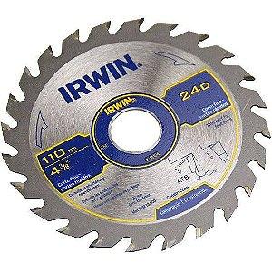 "Disco de Serra IW14104 Circular 4.3/8""X24DX20MM IRWIN"