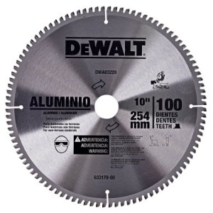 "Disco de Serra Esquadria 10"" 100 Dentes DWA03220 DeWALT"
