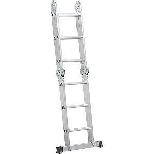 Escada VONDER Articulada 3x4 12 Degraus