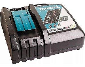 Carregador de Baterias de 18V e 14.4V de Íons de Lítio - MAKITA-DC18RC