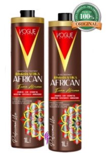 Escova Progressiva African Vogue Fashion 1litro