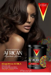 Mascara Reparadora African Vogue Fashion 1kg
