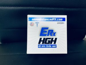 HGH Enhanced RX Hormônio do Crescimento KITS COM 100UI