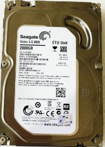"HD 2TB Seagate vídeo 3,5"" sata3"