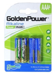 Bateria 3AAA Golden Power c/4 und