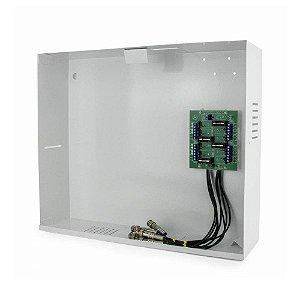 Gabinete - Rack organizador metalico mini HD3000 16 CHN ONIX