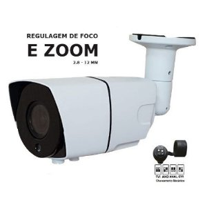 CAMERA VARIFOCAL 2.8 - 12MM METAL 2MP IR 30MT TW2812-VF