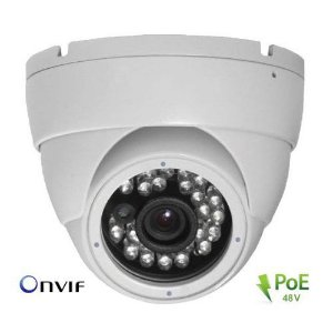 CAMERA IP DOME 2MP H.265 PoE IR 20MT TW3136-IP