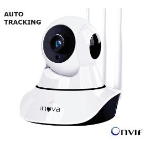 CAMERA IP/WIFI 1MP ON VIF AUDIO BI-DIRECIONAL AUTO TRACKING CAM5702 INOVA