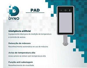 PAD com Inteligência artificial para de medição de temperatura e controle de acesso
