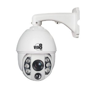 CAMERA SPEED DOME IP - 2.0 Mp, Onvif H.265, 20X zoom, 0,1Lux, IR 120 Mts.