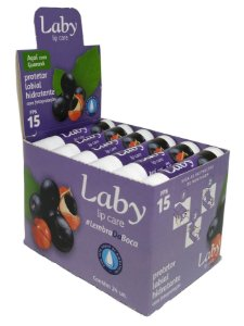 LABY PROTETOR LABIAL AÇAÍ Stick 4,5g DISPLAY c/24